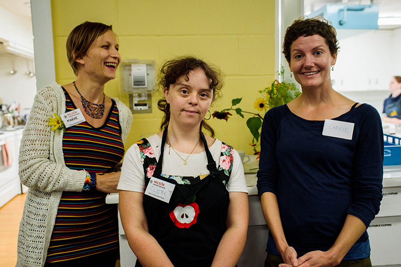 Volunteers at Nelson Community Food Centre Event